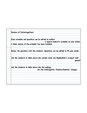 Spanish PDF Version Interrogatives (school class schedule)