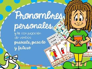Spanish  PERSONAL PRONOUN/ Conjugación de verbos presente, pasado y futuro