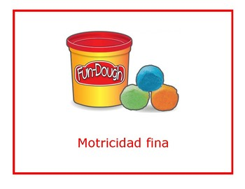 PK-3 Center Labels in Spanish