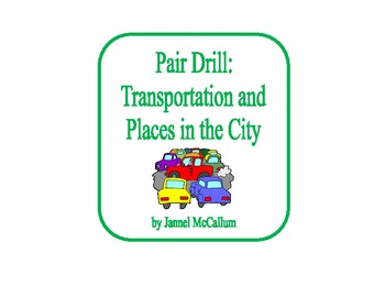 Spanish Pair Drill - Transportation