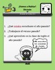 Spanish Pairing Cards * Regular Preterite Verbs * Verbos d