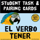 Spanish Tener Task Cards with Birds and Insects of South A