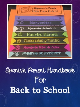 Spanish Parent Flip-book- Updates for Life