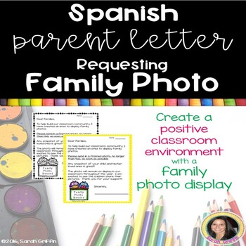 Spanish Parent Letter Requesting Family Photo
