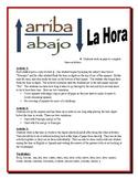 Spanish Time Partner Activity (Speak, Read, Listen, Write)