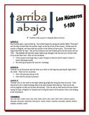 Spanish Numbers 1-100  Partner Activities (Speak, Listen, Write, Read)