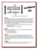 Spanish Numbers 1-50 Partner Activities (Speak, Listen, Write, Read)