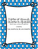 Spanish Parts of Speech Chants