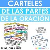 Spanish Parts of Speech Posters - Partes de la oración