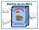 Spanish Parts of a Book Anchor Chart