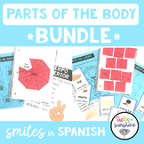Spanish Parts of the Body: Interactive Notebooks and Activities