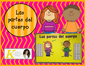 Spanish Parts of the Body Unit 2nd 6th Board Game Books Bingo Word Wall