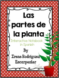 Spanish Parts of the plant Interactive Notebook Activity/Las partes de la planta