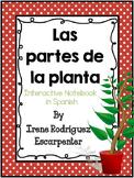 Spanish Parts of the plant Interactive Notebook Activity/Las partes de la planta
