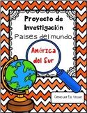 In Spanish   Países del mundo   América del Sur {Proyecto de Investigación}