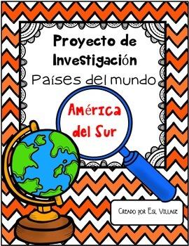 In Spanish | Países del mundo | América del Sur {Proyecto