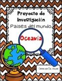 In Spanish   Países del mundo   Oceanía  {Proyecto de Investigación}