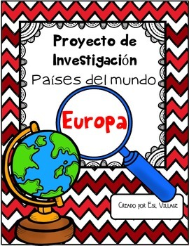In Spanish | Países del mundo | Europa {Proyecto de Invest
