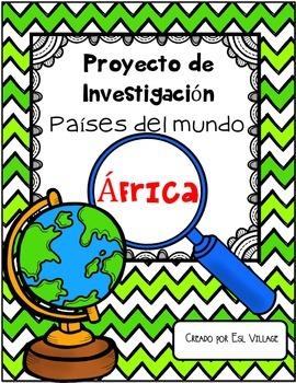 In Spanish | Países del mundo | África {Proyecto de Investigación}