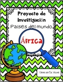 In Spanish   Países del mundo   África {Proyecto de Investigación}