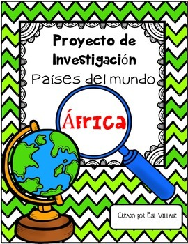In Spanish   Países del mundo   África {Proyecto de Invest