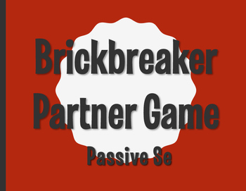 Spanish Passive Se Brickbreaker Partner Game