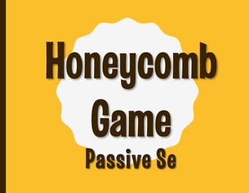 Spanish Passive Se Honeycomb Partner Game