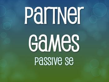 Spanish Passive Se Partner Games