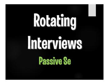 Spanish Passive Se Rotating Interviews