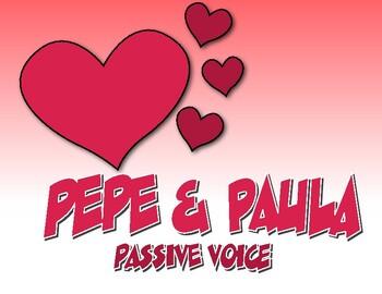 Spanish Passive Voice Pepe and Paula Reading