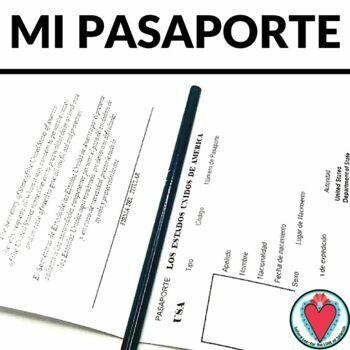 Spanish Passport - Mi Pasaporte