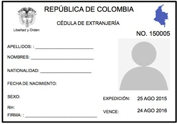 Spanish passport template and visa by spanishplans tpt spanish passport template and visa maxwellsz
