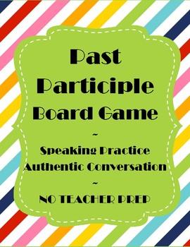 Spanish Past Participle Game