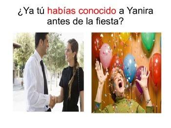 Spanish Past Perfect