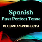 Spanish Past Perfect - Pluscuamperfecto - Just Worksheets