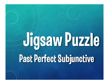 Spanish Past Perfect Subjunctive Jigsaw Puzzle