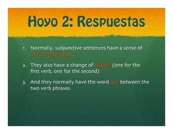 Spanish Past Subjunctive Golf