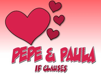 Spanish Past Subjunctive If Clause Pepe and Paula Reading