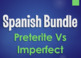 Spanish Past Tenses Monster Bundle
