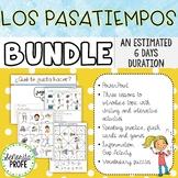 Spanish Pastime Activities / Los Pasatiempos Bundle