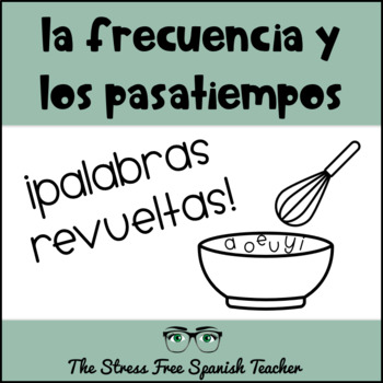 Spanish Pastime Vocabulary Practice and Spelling Quiz! (4A)