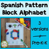 Spanish Pattern Block Alphabet