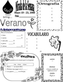 Spanish Peek at the week