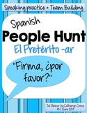 Spanish People Hunt - Preterite AR verbs