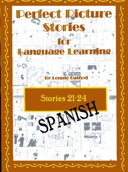 Spanish Perfect Picture Stories for Excellent Writing (21-24)