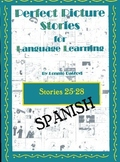 Spanish Perfect Picture Stories for Excellent Writing (25-28)