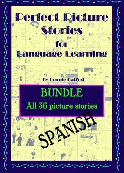 Spanish Perfect Picture Stories for Excellent Writing BUNDLE