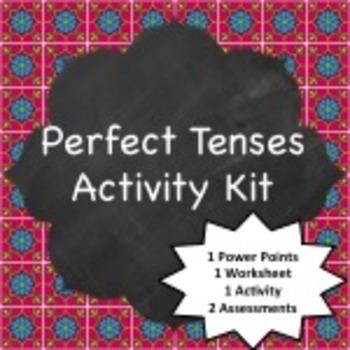 Spanish Grammar:  Perfect Tenses Activity Kit