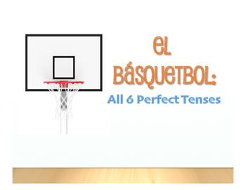Spanish Perfect Tenses Basketball