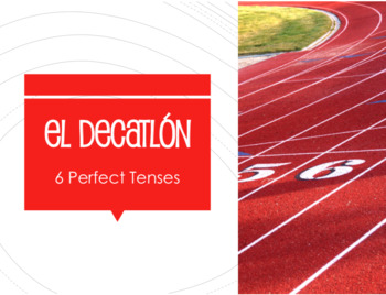 Spanish Perfect Tenses Decathlon